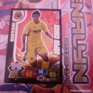 Nº 452 Giovanni. Súper Crack Villarreal. Adrenalyn 2013 2014 13 14 Panini. Liga BBVA