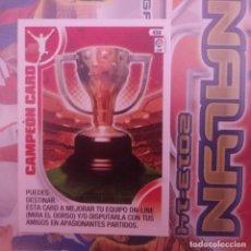 Cromos de Fútbol: Nº 458 CAMPEÓN CARD. IMPECABLE. ADRENALYN 2013 2014 13 14 PANINI. LIGA BBVA. Lote 154662026