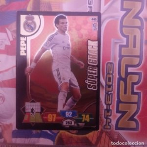 Nº 446 Pepe. Súper Crack. Real Madrid. Adrenalyn 2013 2014 13 14 Panini. Liga BBVA
