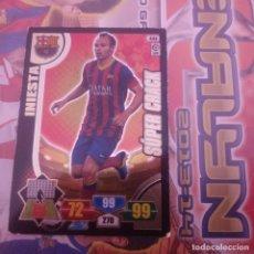 Cromos de Fútbol: Nº 444 INIESTA. SÚPER CRACK F.C.BARCELONA. ADRENALYN 2013 2014 13 14 PANINI. LIGA BBVA. Lote 154664030