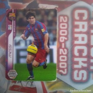 Nº 54 Messi. F.C.Barcelona. Mega Cracks 2006 2007 Panini Sports. Liga BBVA 06 07