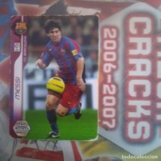 Cromos de Fútbol: Nº 54 MESSI. F.C.BARCELONA. MEGA CRACKS 2006 2007 PANINI SPORTS. LIGA BBVA 06 07. Lote 154670550