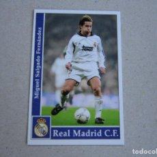 Cromos de Fútbol: MUNDICROMO FICHAS LIGA 2002 2001 Nº 8 MICHEL SALGADO REAL MADRID 01 02. Lote 280111058