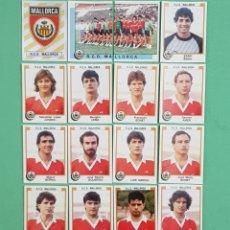 Cromos de Fútbol: PANINI FUTBOL 88 MALLORCA 18 CROMOS NUNCA PEGADOS 1987-1988 87-88. Lote 155141594