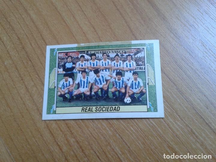 REAL SOCIEDAD -- ALINEACIÓN -- 84/85 -- ESTE -- RECUPERADO (Coleccionismo Deportivo - Álbumes y Cromos de Deportes - Cromos de Fútbol)