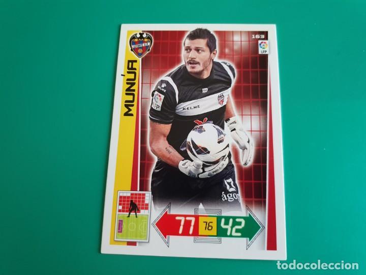 163 MUNÚA - LEVANTE - CROMO ADRENALYN XL 2012-13 - 12/13 (Coleccionismo Deportivo - Álbumes y Cromos de Deportes - Cromos de Fútbol)