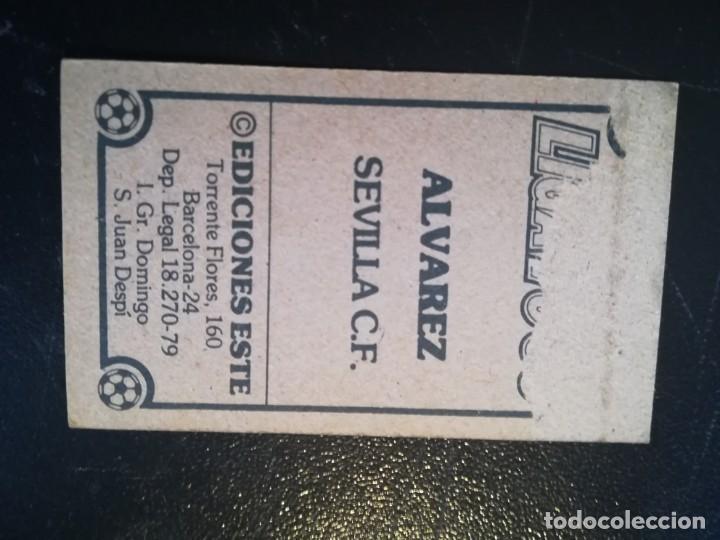 Cromos de Fútbol: ESTE 79/80 1979/80 ALVAREZ RECUPERADO DEL ALBUM - Foto 2 - 155249354
