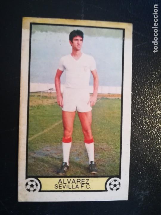ESTE 79/80 1979/80 ALVAREZ RECUPERADO DEL ALBUM (Coleccionismo Deportivo - Álbumes y Cromos de Deportes - Cromos de Fútbol)
