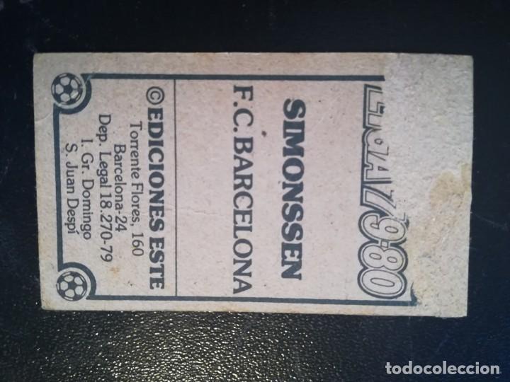 Cromos de Fútbol: ESTE 79/80 1979/80 SIMONSSEN RECUPERADO DEL ALBUM - Foto 2 - 155249646