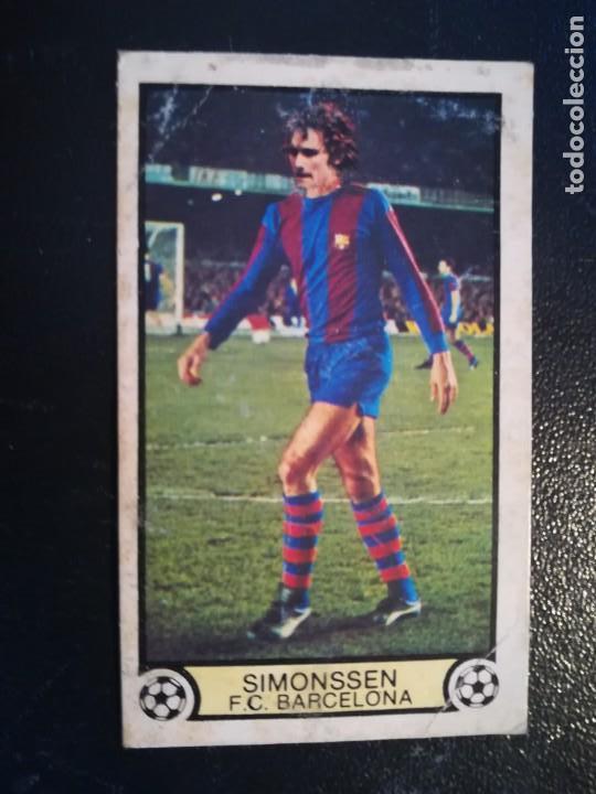 ESTE 79/80 1979/80 SIMONSSEN RECUPERADO DEL ALBUM (Coleccionismo Deportivo - Álbumes y Cromos de Deportes - Cromos de Fútbol)