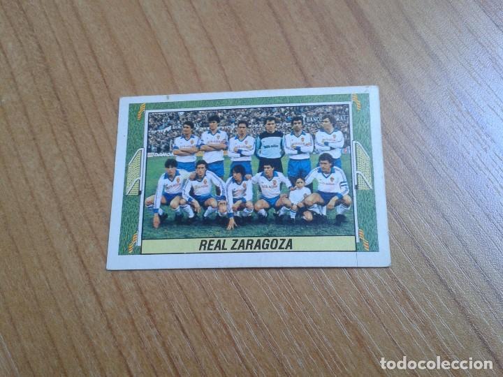 ZARAGOZA -- ALINEACIÓN -- 84/85 -- ESTE -- RECUPERADO (Coleccionismo Deportivo - Álbumes y Cromos de Deportes - Cromos de Fútbol)