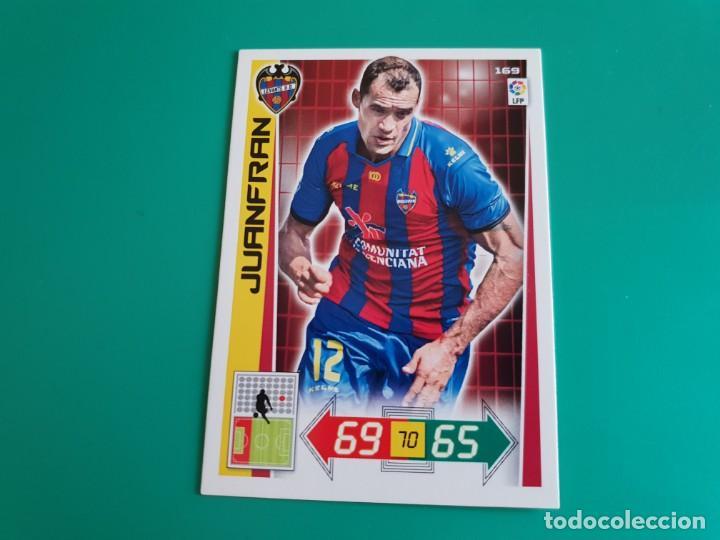 169 JUANFRAN - LEVANTE - CROMO ADRENALYN XL 2012-13 - 12/13 (Coleccionismo Deportivo - Álbumes y Cromos de Deportes - Cromos de Fútbol)