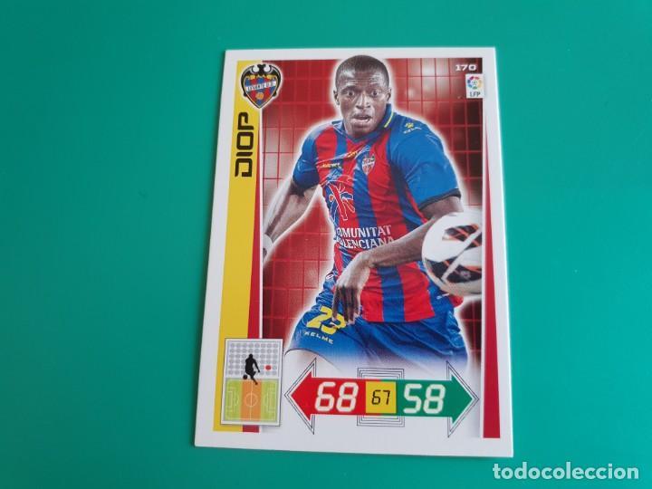 170 DIOP - LEVANTE - CROMO ADRENALYN XL 2012-13 - 12/13 (Coleccionismo Deportivo - Álbumes y Cromos de Deportes - Cromos de Fútbol)