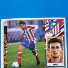 Cromos de Fútbol: COLECCIONES ESTE KIKO TEMPORADA 97/98 CLUB ATLETICO DE MADRID. Lote 157133884
