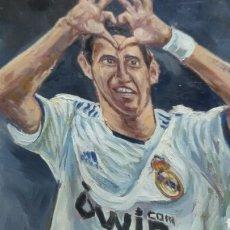 Cromos de Fútbol: DI MARIA REAL MADRID (PRODUCCIÓN UNICA ). Lote 155518498
