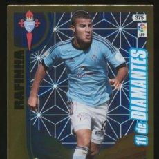 Cromos de Fútbol: #375. RAFINHA (11 DE DIAMANTES) - RC CELTA DE VIGO 2013/2014 - ADRENALYN LIGA CARD/CROMO 13/14. Lote 269718083