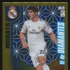 Cromos de Fútbol: #379. ALVARO MORATA (11 DE DIAMANTES) - REAL MADRID CF 2013/2014 - ADRENALYN LIGA CARD/CROMO 13/14. Lote 269718288