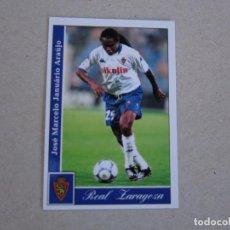 Cromos de Fútbol: MUNDICROMO FICHAS LIGA 2002 2001 Nº 345 ESQUERDINHA ZARAGOZA 01 02. Lote 155700842