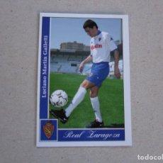 Cromos de Fútbol: MUNDICROMO FICHAS LIGA 2002 2001 Nº 346 GALLETTI ZARAGOZA 01 02. Lote 155700890