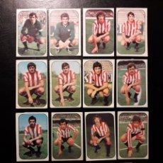 Cromos de Fútbol: 15 CROMOS ATHLETIC DE BILBAO. ESTE 1976-1977 76-77. DESPEGADOS. VER FOTOS DE FRONTAL Y TRASERA.. Lote 155704868