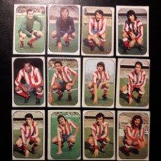 Cromos de Fútbol: 15 CROMOS AT DE MADRID. ESTE 1976-1977 76-77. DESPEGADOS. VER FOTOS DE FRONTAL Y TRASERA. Lote 155704984