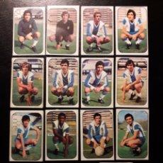 Cromos de Fútbol: 15 CROMOS RCD ESPAÑOL. ESTE 1976-1977 76-77. DESPEGADOS. VER FOTOS DE FRONTAL Y TRASERA. Lote 155705437