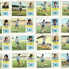 Cromos de Fútbol: LOTE DE 16 CROMOS DE FUTBOL ALBUM 1973-74 FHER: C.D. MALAGA (EQUIPO COMPLETO) (MAR-19). Lote 155712450
