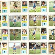 Cromos de Fútbol: LOTE DE 16 CROMOS DE FUTBOL ALBUM 1973-74 FHER: R.C.D. ESPAÑOL (EQUIPO COMPLETO) (MAR-19). Lote 155712694