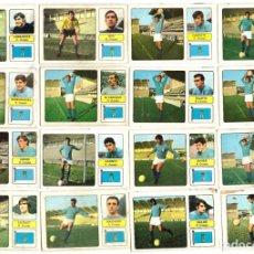 Cromos de Fútbol: LOTE DE 16 CROMOS DE FUTBOL ALBUM 1973-74 FHER: R. OVIEDO (EQUIPO COMPLETO) (MAR-19). Lote 155712730