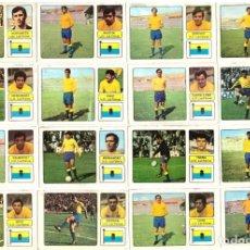 Cromos de Fútbol: LOTE DE 16 CROMOS DE FUTBOL ALBUM 1973-74 FHER: U.D. LAS PALMAS (EQUIPO COMPLETO) (MAR-19). Lote 155712858