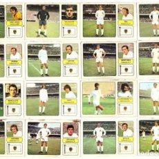 Cromos de Fútbol: LOTE DE 16 CROMOS DE FUTBOL ALBUM 1973-74 FHER: VALENCIA C.F. (EQUIPO COMPLETO) (MAR-19). Lote 155712890
