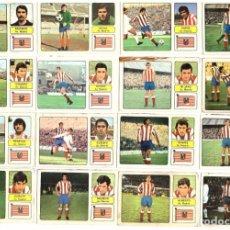 Cromos de Fútbol: LOTE DE 16 CROMOS DE FUTBOL ALBUM 1973-74 FHER: AT. MADRID (EQUIPO COMPLETO) (MAR-19). Lote 155712926