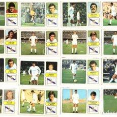 Cromos de Fútbol: LOTE DE 16 CROMOS DE FUTBOL ALBUM 1973-74 FHER: R. MADRID (EQUIPO COMPLETO) (MAR-19). Lote 155712942