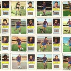 Cromos de Fútbol: LOTE DE 16 CROMOS DE FUTBOL ALBUM 1973-74 FHER: BARCELONA C.F. (EQUIPO COMPLETO) (MAR-19). Lote 155712954