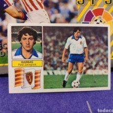 Cromos de Fútbol: CROMO EDICIONES ESTE TEMPORADA 82-83 BARBAS VERSIÓN DIFÍCIL FICHAJE NUNCA PEGADO. Lote 155780898