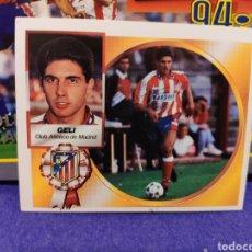 Cromos de Fútbol: CROMO EDICIONES ESTE TEMPORADA 94-95 GELI COLOCA NUNCA PEGADO. Lote 155782952