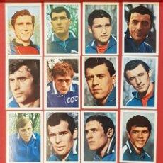 Cromos de Fútbol: FHER MEXICO 70 MUNDIAL DE FUTBOL 1970 RUSIA 15 CROMOS DIFERENTES. Lote 155821422