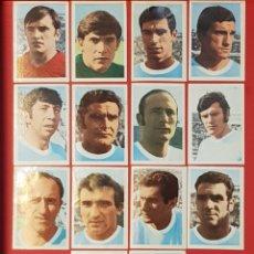 Cromos de Fútbol: FHER MEXICO 70 MUNDIAL DE FUTBOL 1970 URUGUAY 14 CROMOS DIFERENTES. Lote 155824178