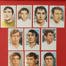 Cromos de Fútbol: FHER MEXICO 70 MUNDIAL DE FUTBOL 1970 RUMANIA 10 CROMOS DIFERENTES. Lote 155825117
