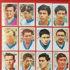 Cromos de Fútbol: FHER MEXICO 70 MUNDIAL DE FUTBOL 1970 EL SALVADOR 12 CROMOS DIFERENTES. Lote 155826398