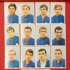 Cromos de Fútbol: FHER MEXICO 70 MUNDIAL DE FUTBOL 1970 BULGARIA 14 CROMOS DIFERENTES. Lote 155827373