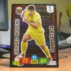 Cromos de Fútbol: ADRENALYN XL 2018-2019 18 19 Nº 462 GERARD MORENO (VILLARREAL) SUPER CRACK-SUPERCRACK. Lote 156180445