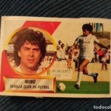 Cromos de Fútbol: 88/89 ESTE. FICHAJE 34 SEVILLA MINO DIFÍCIL.. Lote 155855198
