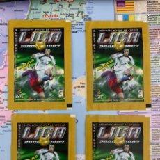 Cromos de Fútbol: 4 SOBRES SIN ABRIR LIGA ESTE 2006-2007. Lote 155879545