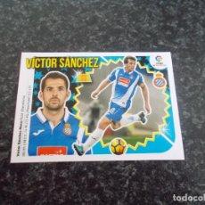 Cromos de Fútbol: CROMO ESTE 2018/19 // Nº9 VICTOR SANCHEZ ( ESPAÑOL) NUEVO SACADO DE SOBRE. Lote 156183490