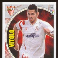 Cromos de Fútbol: #322. VITOLO - SEVILLA FC 2014/2015 - ADRENALYN LIGA CARD/CROMO 14/15. Lote 156192282