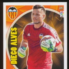 Cromos de Fútbol: #325. DIEGO ALVES - VALENCIA CF 2014/2015 - ADRENALYN LIGA CARD/CROMO 14/15. Lote 156193670
