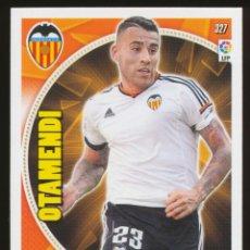 Cromos de Fútbol: #327. NICOLAS OTAMENDI - VALENCIA CF 2014/2015 - ADRENALYN LIGA CARD/CROMO 14/15. Lote 156193838