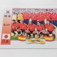 Cromos de Fútbol: 69 ALINEACION ESPAÑÁ SPAIN NUEVO MUNDIAL WORLD CUP KOREA JAPON 2002 NO LIGA ESTE PANINI. Lote 157138312