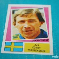 Cromos de Fútbol: CROMO MUNDIAL ARGENTINA 1978 FHER Nº 225 C. TORSTENSSON DE SUECIA. Lote 156527542